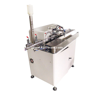 Multi-conductor Cable Cutting Stripping and Tin Dipping Machine