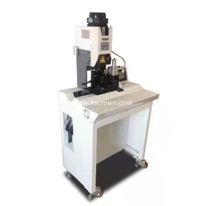 Flat Cable Split Strip and Crimp Machine