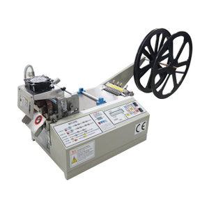 Nylon Tape Cutting and Sealing Machine with Hot and Cold Blades