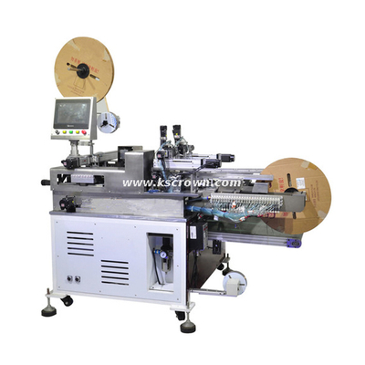 Two-ends Terminal Pressing Tinning Housing Inserting Machine