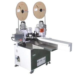 Fully-auto Five-wire Double Ends Connector Crimp Machine