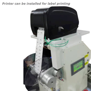 Wire Label Printing and Folding Machine