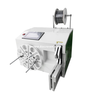 Automatic Wire and Tube Coiling and Tying Machine
