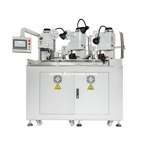 Four Wires Combined Five Connectors Crimping Machine