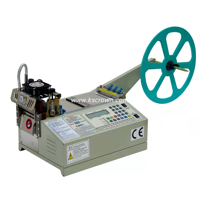 Automatic Hot & Cold Knife Fabric Tape Cutting Machine Standard Model