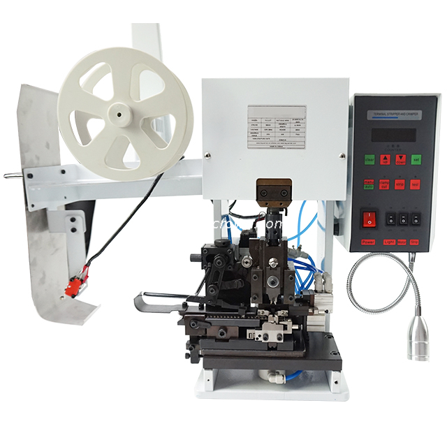Wire Stripping Terminal Crimping Machine