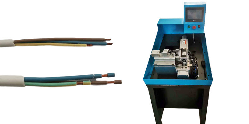 Multi-core Cable Inner Wires Long and Short Stripping Machine
