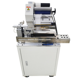 Wire Sticker Folded Flag Label Machine