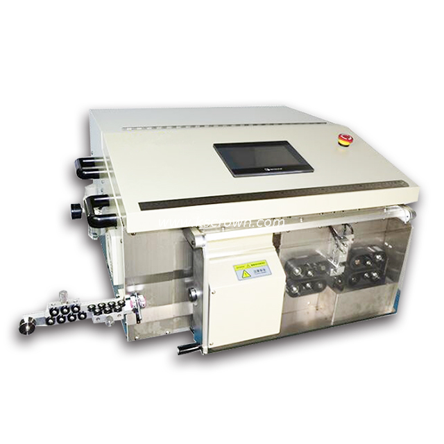 Multi-layer Coax Cable Cutting Stripping Machine