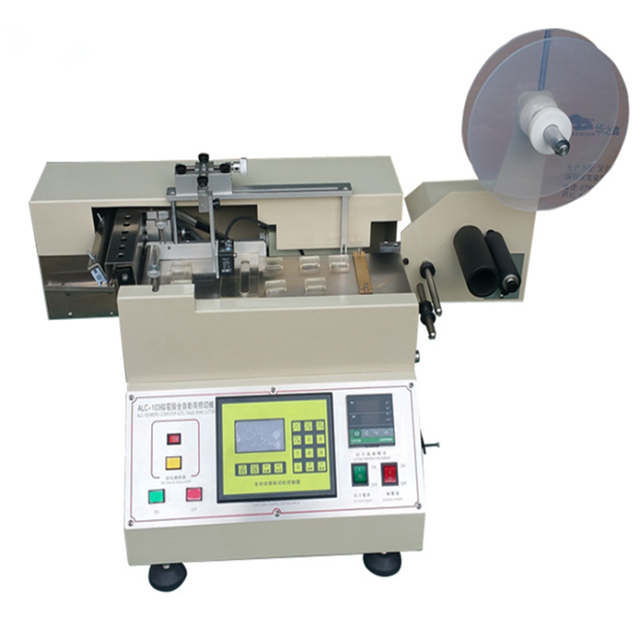 Cold and Hot Knife Woven Label Cutting Machine