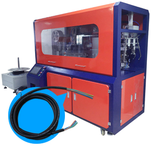 Cable Cutting Stripping and Winding Tying Machine