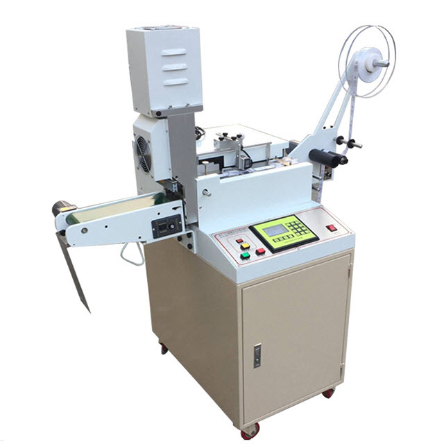 High Speed Ultrasolic Satin Fabric Labels Cutting Machine WL-203A