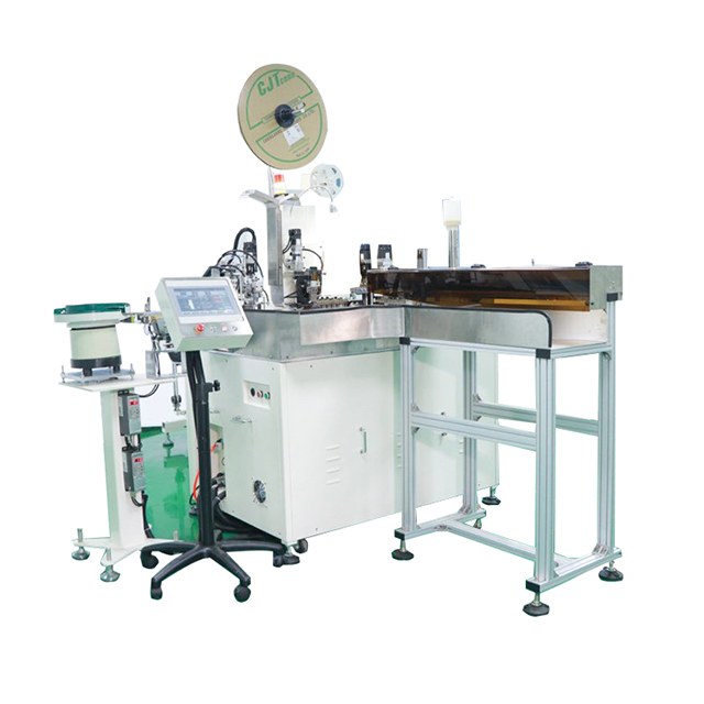Automatic Cable One End Housing Inserting and Tinning Machine