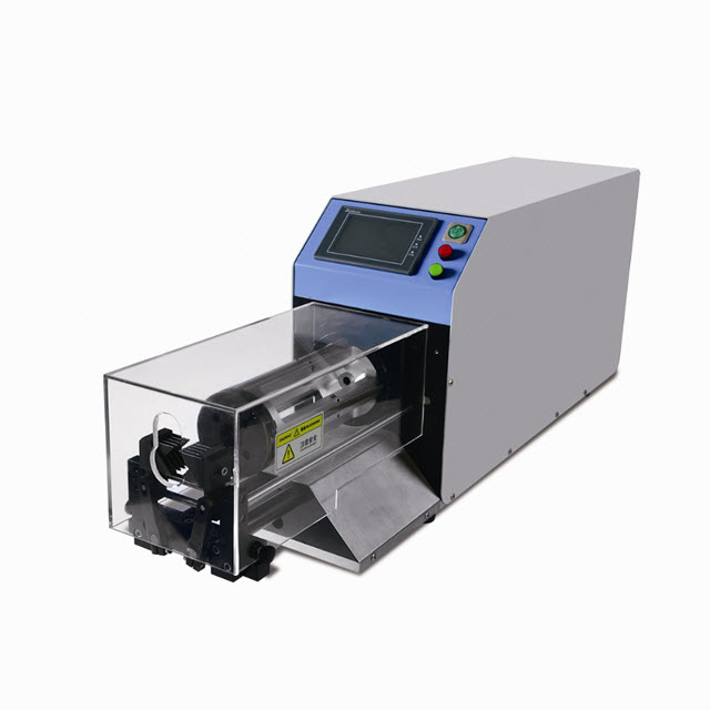 Coaxial Wire Stripping Machine