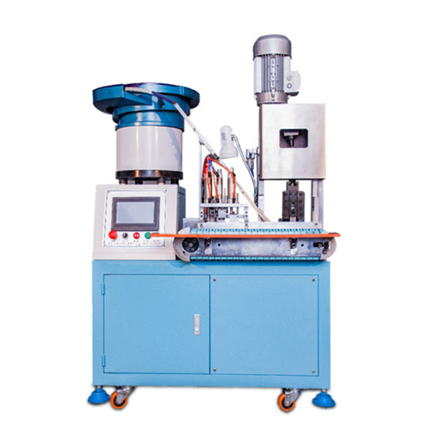 Automated European Standard Plug Riveting Machine