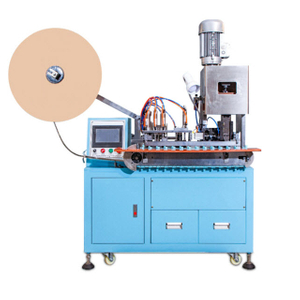 Automated DC Power Connector Crimping Machine