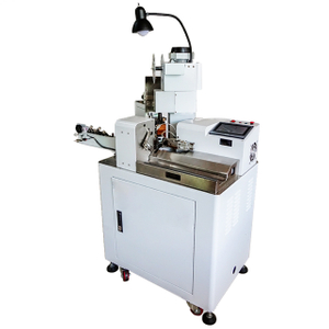 Parallel Twin Wire Stripping Splitting and Crimping Machine