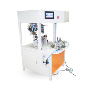 Automated Wire Round Coil Winding and Binding Machine