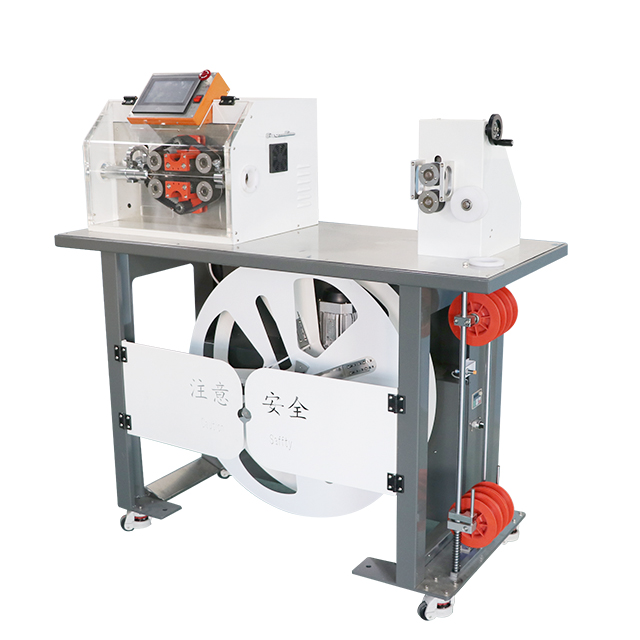 All in One Corrugated Tube Conduit Cutting Machine